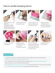 konad u003esquare image plate no 24 summer korea nail pedicure stamping