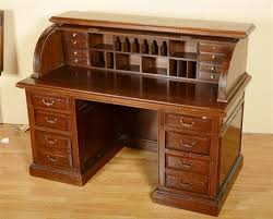 roll top desk tambour an oak roll top desk the tambour front enclosing pigeon holes and