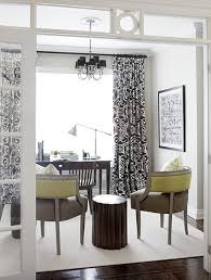 Citrine Curtains Black And White Curtains Contemporary Den Library Office