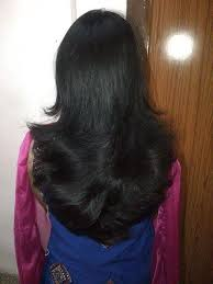 is v shaped layered look good for curly hair which type of haircut suits me the following are my details my