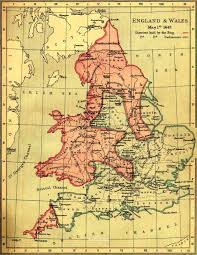 Map Of England And Wales England And Wales 1643 Jpg
