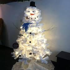 walmart trees white lights decoration