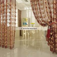 Yarn Curtains Alluring Gold Sheer Curtains And Sheer Curtain Ideas For Living