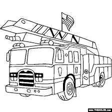 Trucks Online Coloring Pages Page 1 Coloring Truck Pages