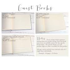 guest book sign in guest book with photo frame cover an archival keepsake by blue