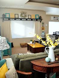 Home Decor Yellow by Home Decor My Turquoise And Yellow Family Room Craft O Maniac