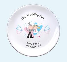 wedding plate wholesale pink blue hearts wedding plate buy discount pink