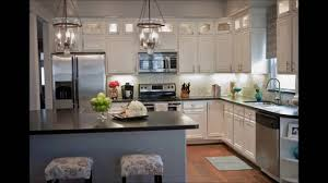 Blue Kitchens With White Cabinets Complete Kitchen Transformation Victorian Light Blue With White