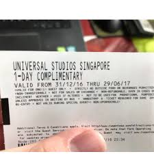 are halloween horror nights tickets transferable uss ticket tickets u0026 vouchers attractions on carousell