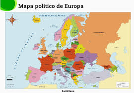 European Countries Map English Maca Roon European Countries And Their Capitals
