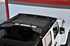 4 door jeep wrangler top amazon com spiderwebshade jeep wrangler jkini mesh shade top