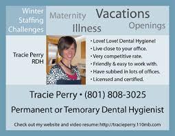 Sample Dental Hygienist Resume by Need A Job Send A Postcard Dentistryiq