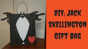 halloween diy nightmare before christmas gift bag how to