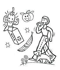 healthy food coloring pages preschool healthy food coloring pages knowgood info