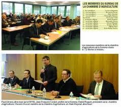 chambre d agriculture amiens daniel roguet reconduit à la présidence de la chambre d agriculture