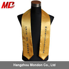 customized graduation stoles china 12 color for custom graduation stoles china wholesale stole