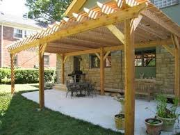 Attached Pergola Designs by Tuscan Pergola Design Landscaping And Outdoor Building