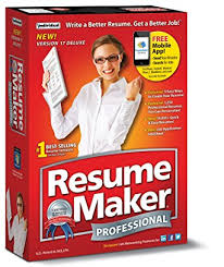 Best Resume Maker Software Amazon Com Individual Software Resume Maker Professional Deluxe 17