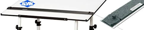 Drafting Table With Parallel Bar Alvin Paral Liner Straightedge Professionals Drafting Parallel Bar