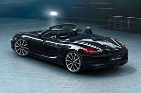 porsche boxster black edition the porsche boxster black edition makes its debut insider car