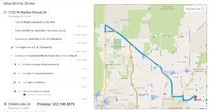 Brooksville Florida Map by Walden Woods Golf League Logon