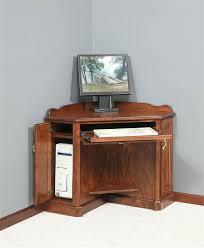 Small Oak Computer Desk Computer Desk Corner Unit 10 Storage Solutions To Rule Your Small