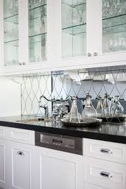 Mirror Backsplash Kitchen by 27 Best Mirrored Backsplash Images On Pinterest Mirror