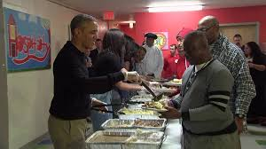 obama s serve thanksgiving dinner to homeless and vets cnnpolitics