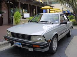 peugeot turbo 2016 original owner w full records 1986 peugeot 505 turbo bring a