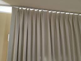 Curtains For Ceiling Tracks Parisian Pleat Curtain On Ceiling Track Le Window Covering