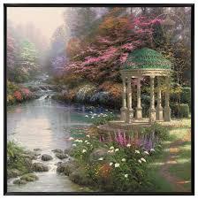 the garden of payer u2013 36 u2033 x 36 u2033 framed canvas wall murals the
