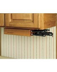 kitchen knives storage genius knives inside the cabinet door flat so it doesn t