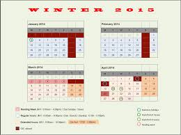 opening hours fall 2014 winter 2015 geographic information