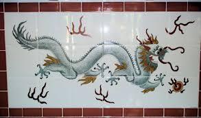 tile murals for kitchen backsplash orientalia chinese asian glass porcelain tile art murals by julia
