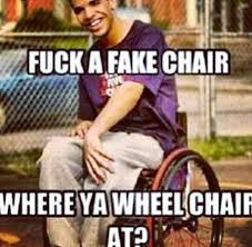 Wheelchair Meme - drake wheelchair meme tumblr mne vse pohuj