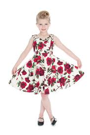 the ditsy rose swing dress girls now on sale ponyboy vintage