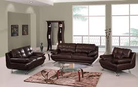 Leather Sofa Decorating Ideas Beautiful Brown Living Room Design With Brown Leather Sofa And