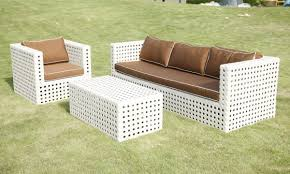 White Outdoor Wicker Furniture Home Design Ideas And Pictures - Outdoor white wicker furniture