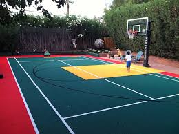 30 u0027 x 60 u0027 backyard court backyard sport court pinterest