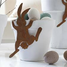 easter rabbits decorations easter decoration some simple and stylish easter decor ideas