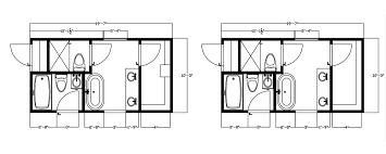 drawing bathroom floor plans