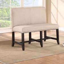 dining benches with back foter