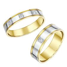 his and hers white gold wedding rings his hers white gold wedding rings matching sets for groom and