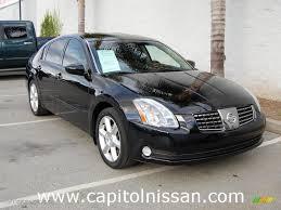 nissan maxima black 2017 2006 onyx black nissan maxima 3 5 se 7272886 gtcarlot com car