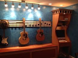 Guitar StorageMusic Room - Family room storage cabinets