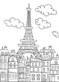 coloring pages eiffel tower mandala coloring 101 coloring pages