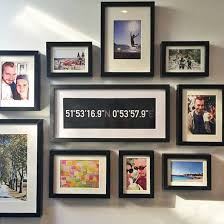 ideas for displaying photos on wall creative ways to display travel photos and tokens at home ideal home