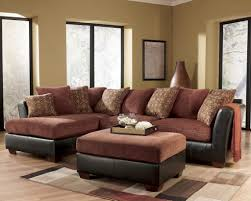 living room displays furniture attractive cushions on sweet brown modern home