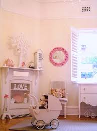 girls shabby chic french bedroom room vintage pastel pink pram