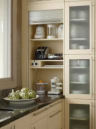 kitchen appliance storage cabinet 40 ingenious kitchen cabinetry ideas and designs renoguide